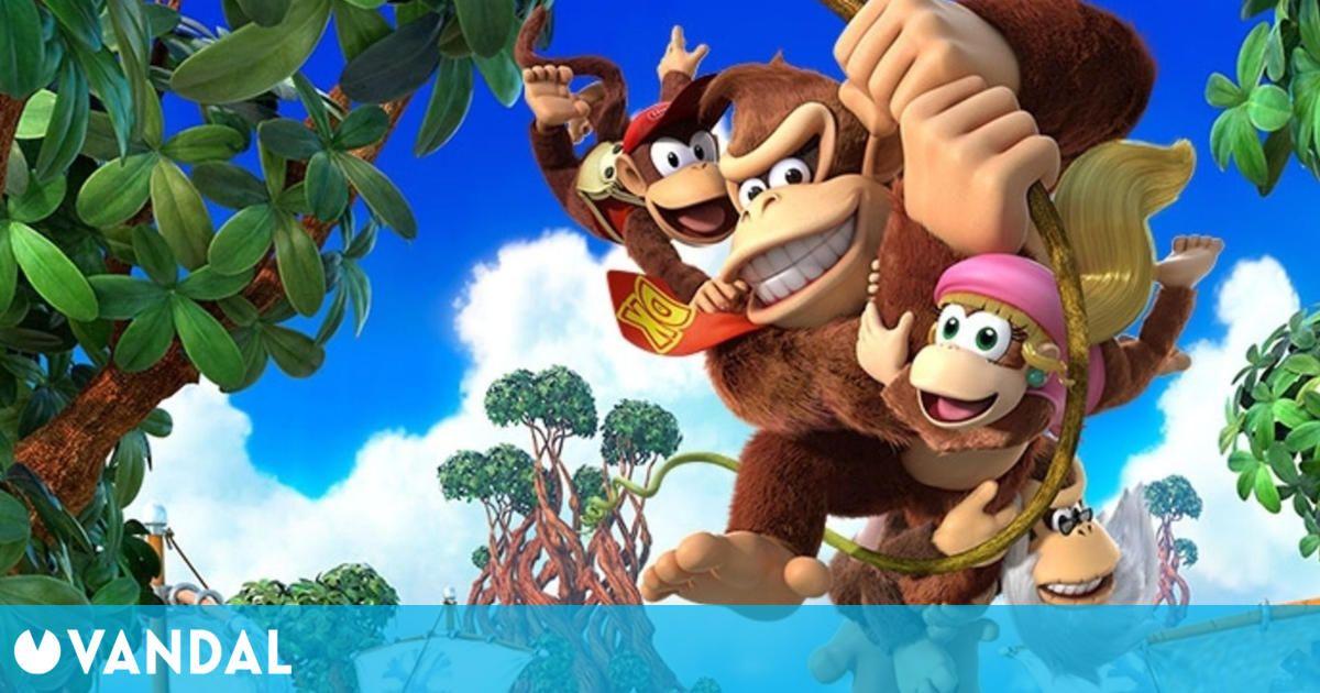 Donkey Kong, el icónico gorila de Nintendo, cumple hoy 40 años