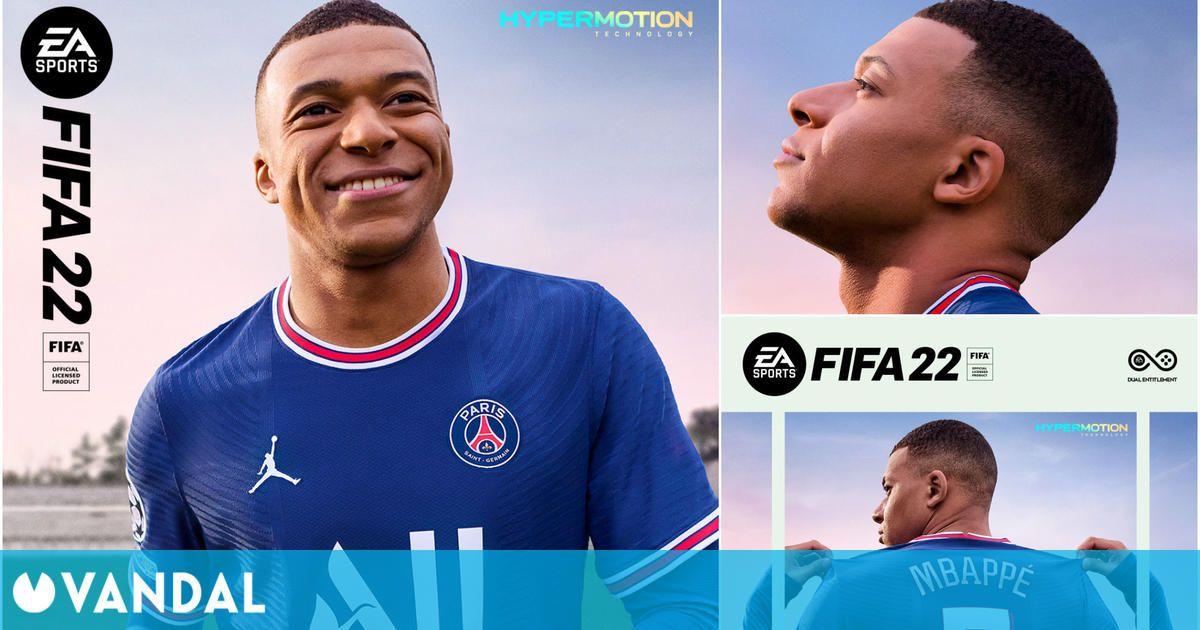 FIFA 22: Kylian Mbappé será la estrella de portada y este domingo veremos su primer tráiler