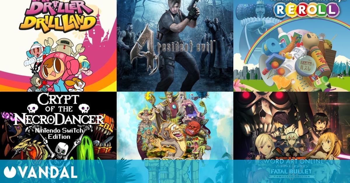 Ofertas digitales de Nintendo Switch: Resident Evil 4, Mr. Driller, Katamari Damacy…