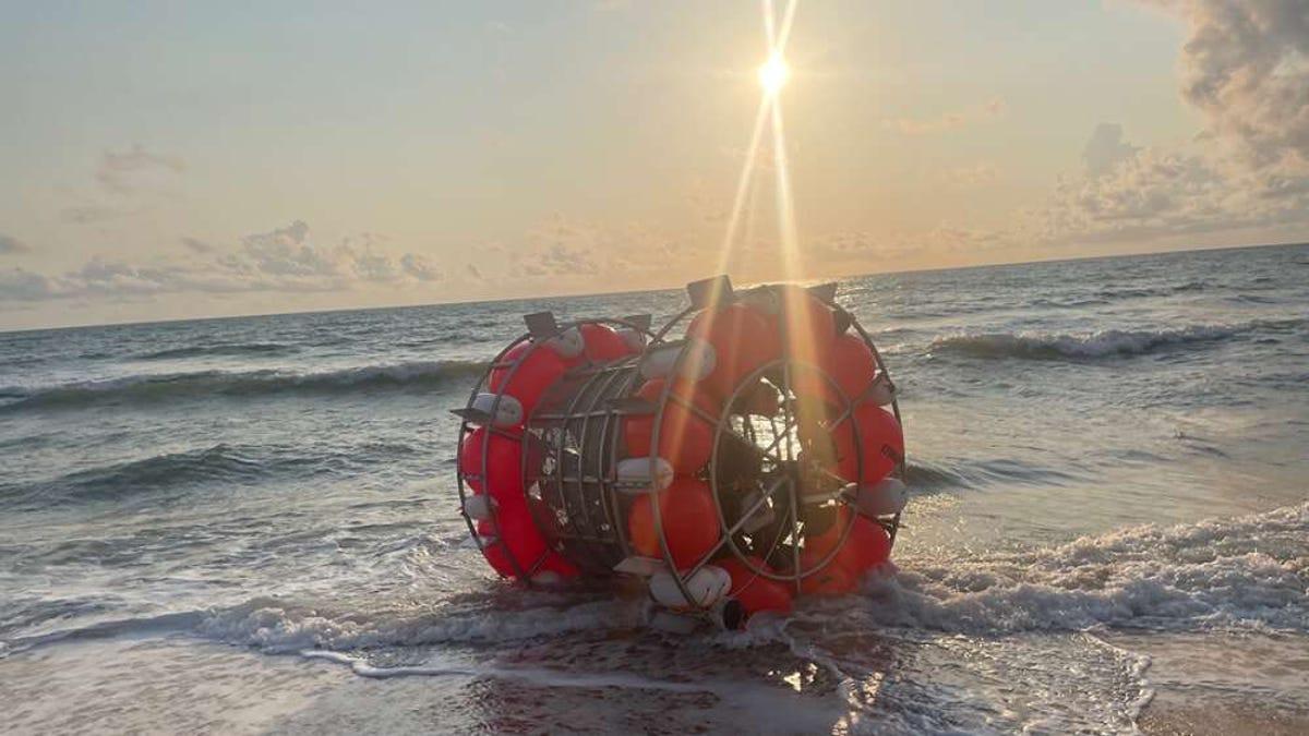 Hacer Florida-Nueva York por mar en una rueda de hámster