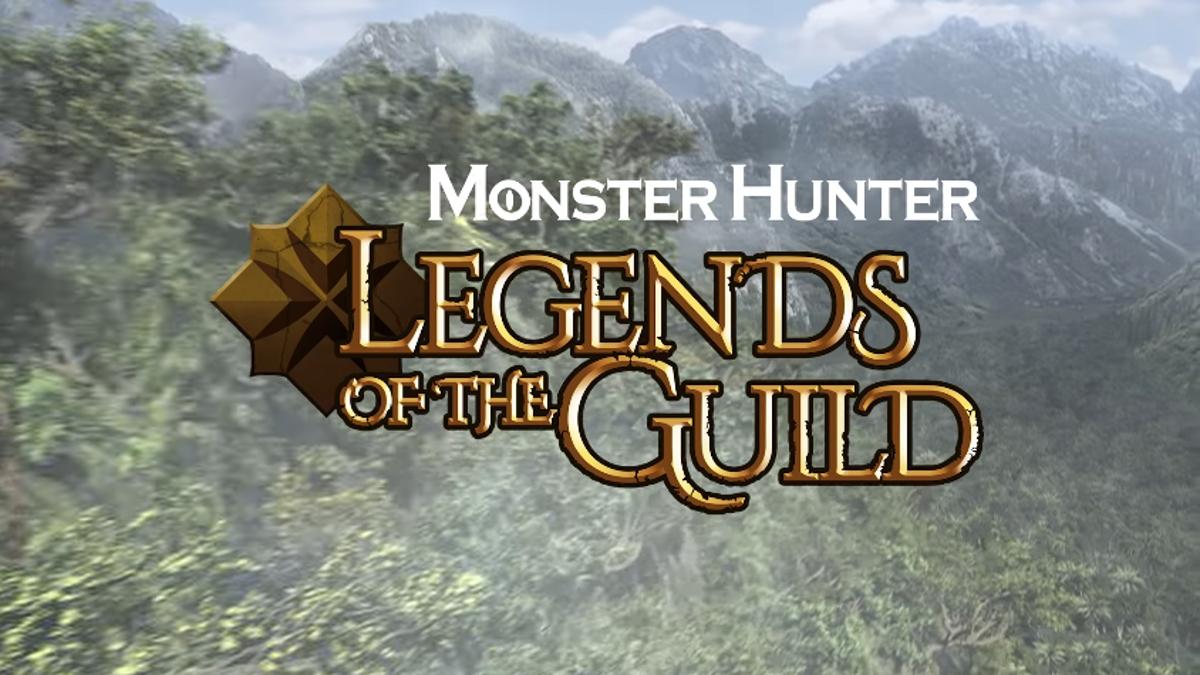 Ya está el tráiler de Monster Hunter: Legends of the Guild