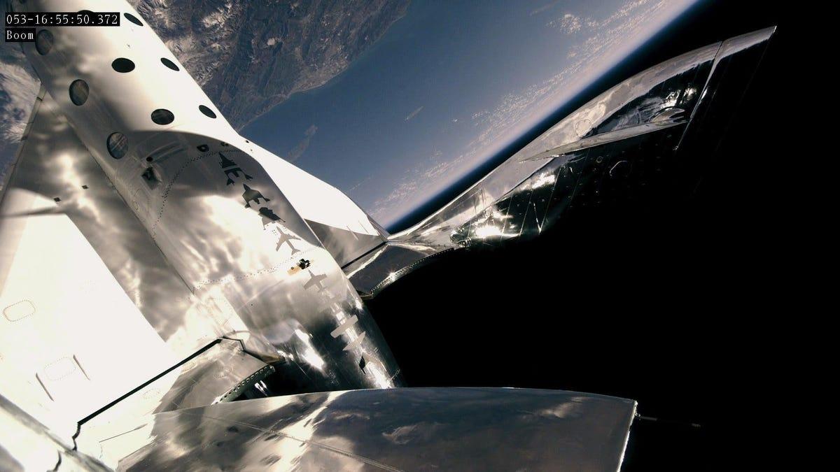 Sigue en directo el vuelo de Richard Branson al espacio con Virgin Galactic