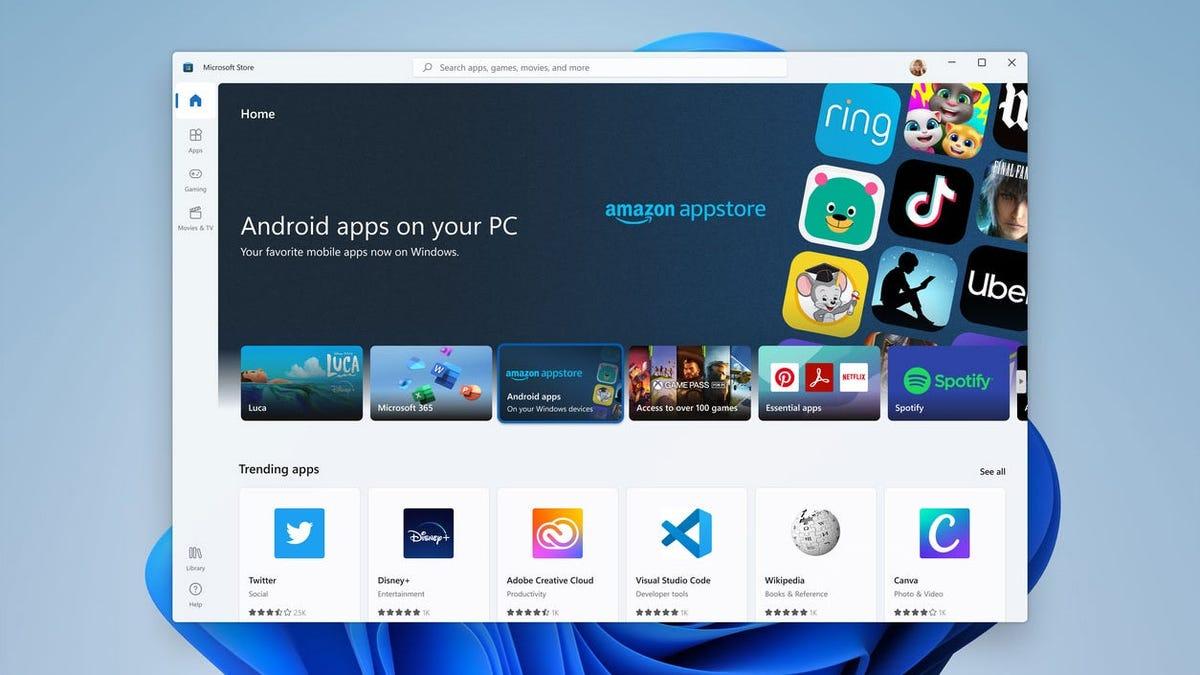 Windows 11 permitirá cargar aplicaciones Android con formato AAB
