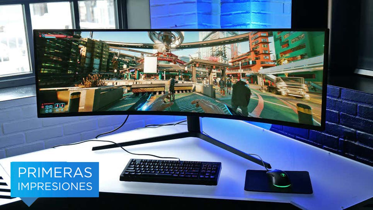 Primeras impresiones del enorme monitor Samsung Odyssey Neo G9