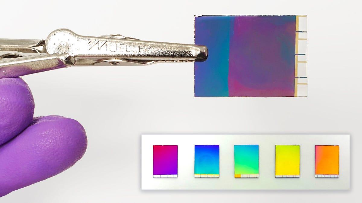 Esta tinta electrónica es capaz de mostrar el mismo número de colores que una pantalla LCD