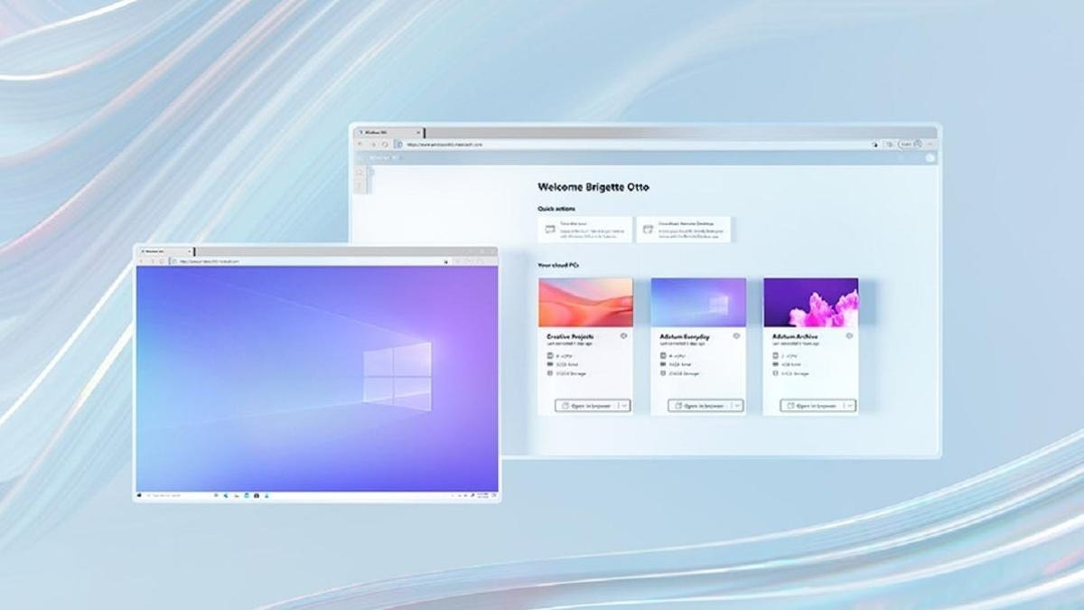 ahora puedes usar Windows desde la nube en cualquier dispositivo, sin tenerlo instalado