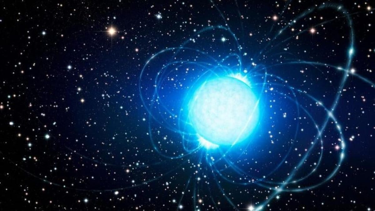 Las montañas de las estrellas de neutrones miden menos de 1 milímetro