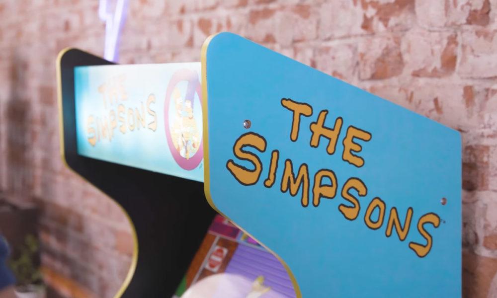 Arcade1Up conmemora el 30 aniversario de Los Simpsons con una máquina arcade