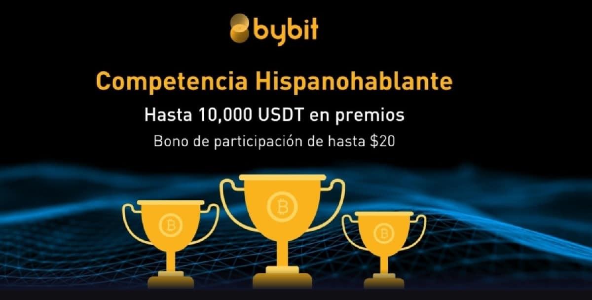 Participa en la competencia hispanohablante de Bybit y gana hasta 10.000 USDT