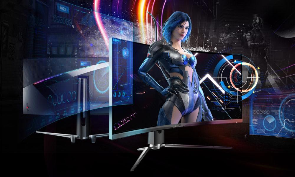 MSI anuncia sus nuevos monitores gaming curvos Artymis