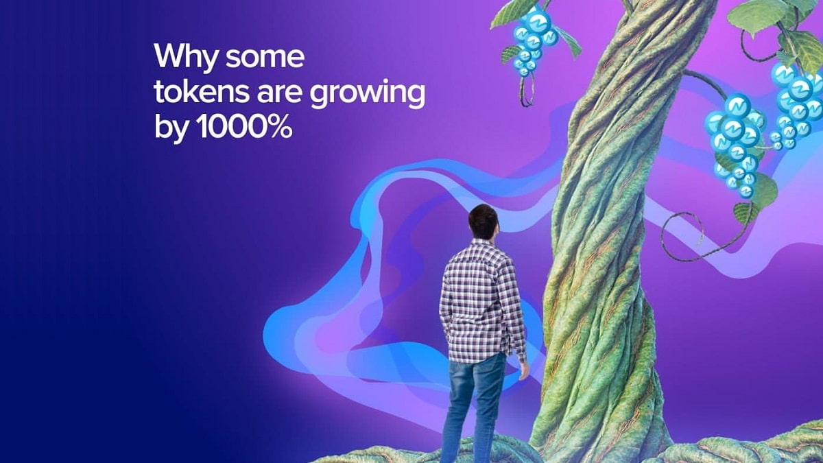 ¿Conoces los tokens que han tenido un crecimiento mayor al 1.000%?