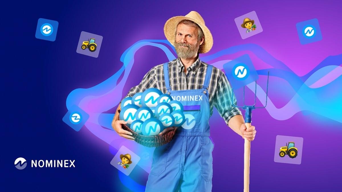 ¿Pensando en ser granjero? Haz farming de criptomonedas con Nominex