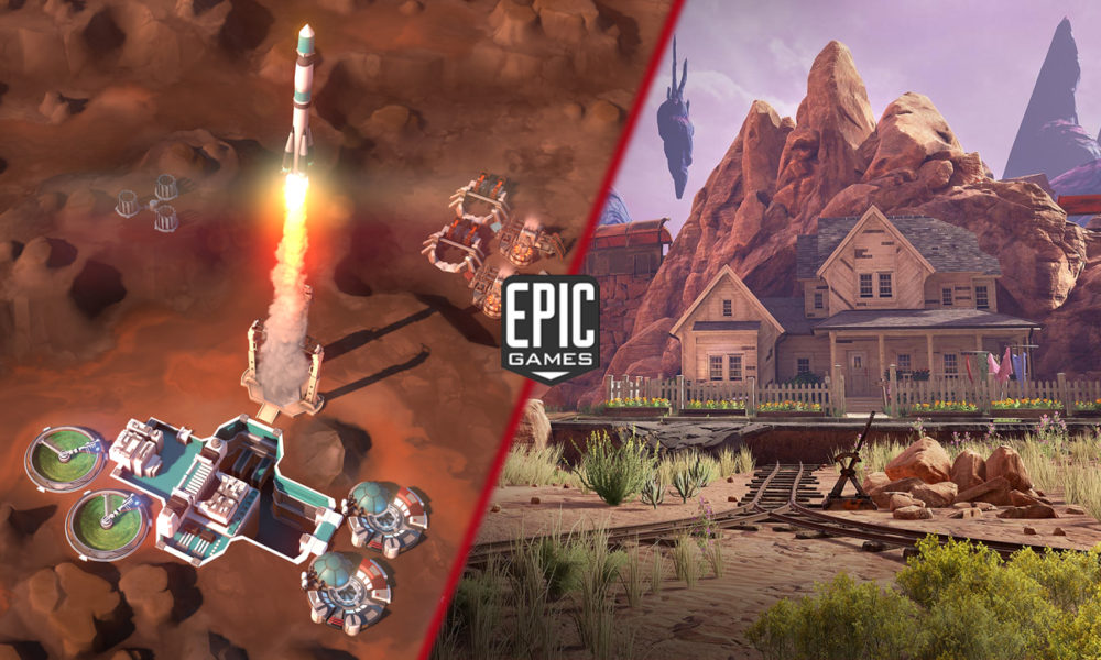 Offworld Trading Company y Obduction, nuevos juegos gratis de la Epic Games Store