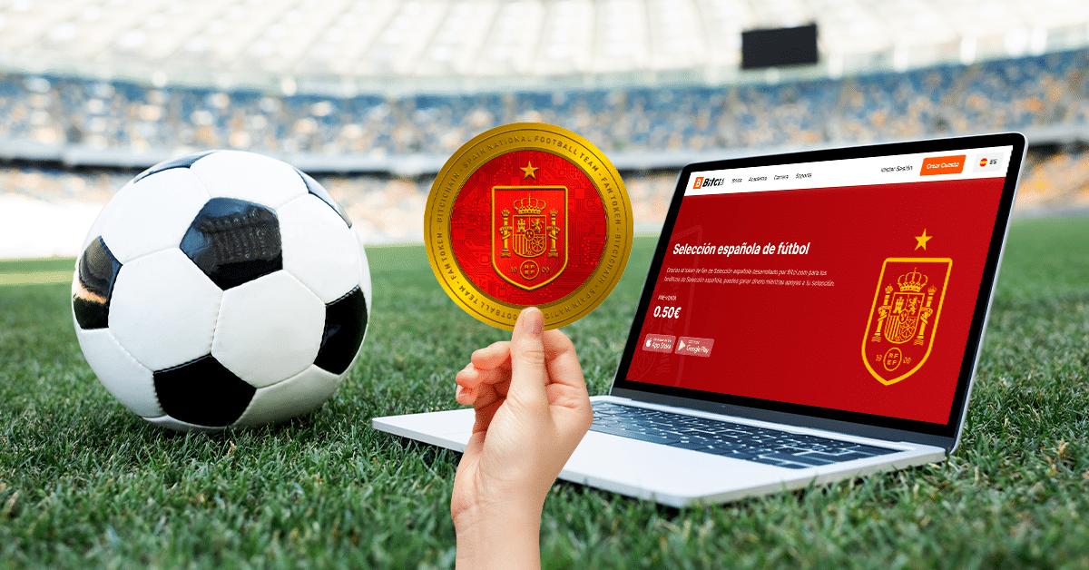Selección de Fútbol de España pone a la venta su fan token