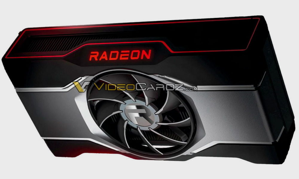 Este es el diseño de la Radeon RX 6600 XT de referencia