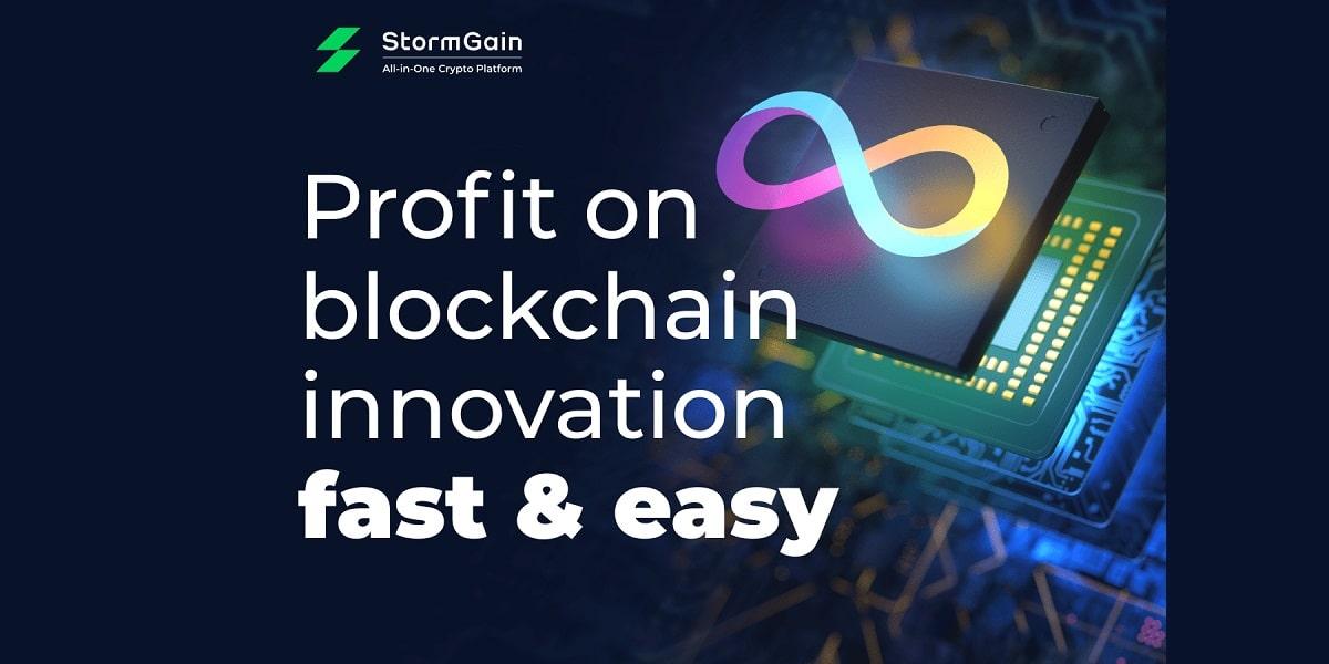 StormGain incorpora el trading de Internet Computer (ICP) con 0% de comisión