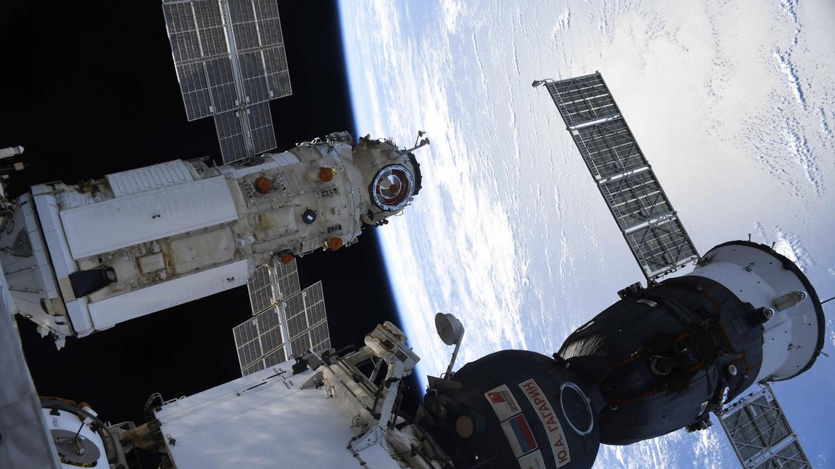 Rusia culpa al software por activación accidental del módulo de la ISS