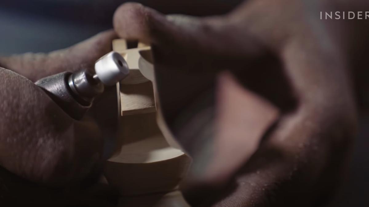 Así se fabrican las piezas de ajedrez para campeonatos del mundo