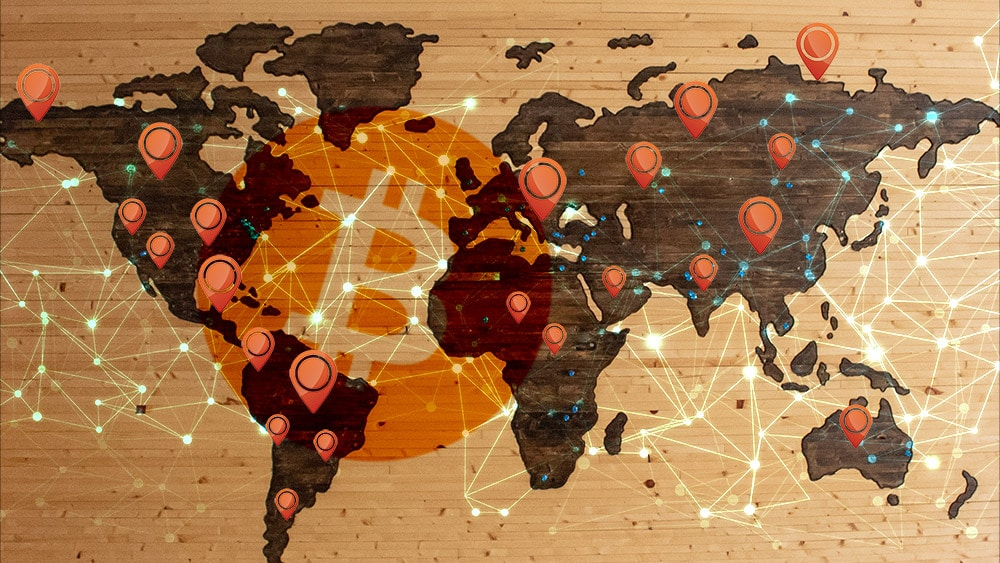 Desde el inicio de la pandemia, cajeros de bitcoin se han triplicado en el mundo