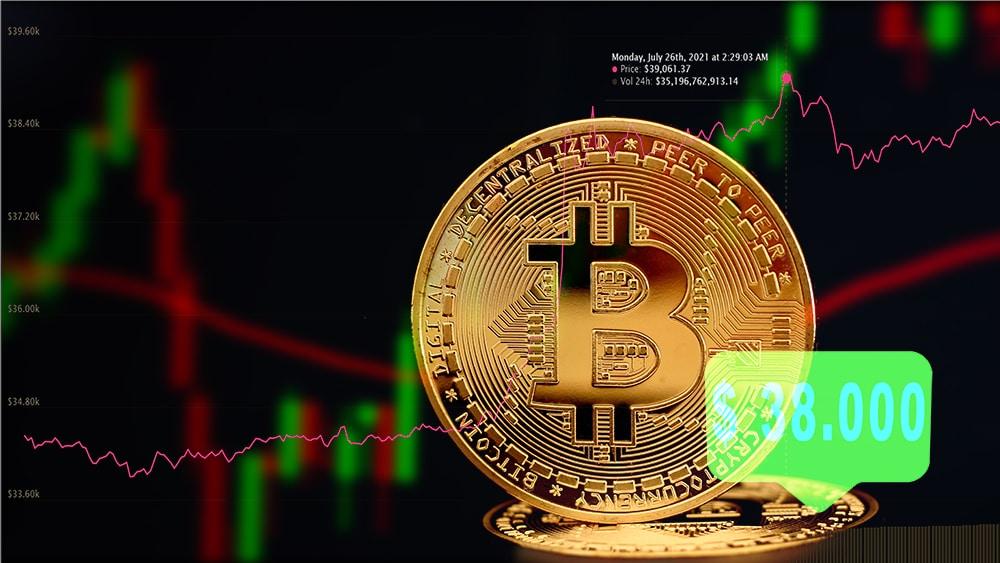 Bitcoin pasa los USD 38.000 y liquidan 900 millones a los traders bajistas