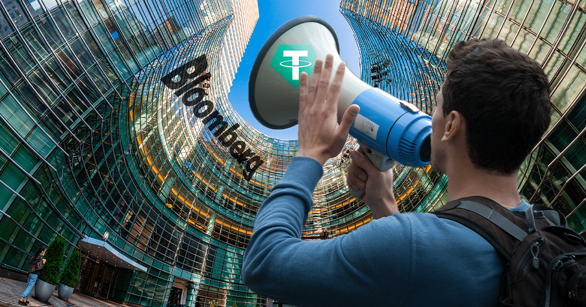 Tether responde a las acusaciones de fraude bancario de Bloomberg