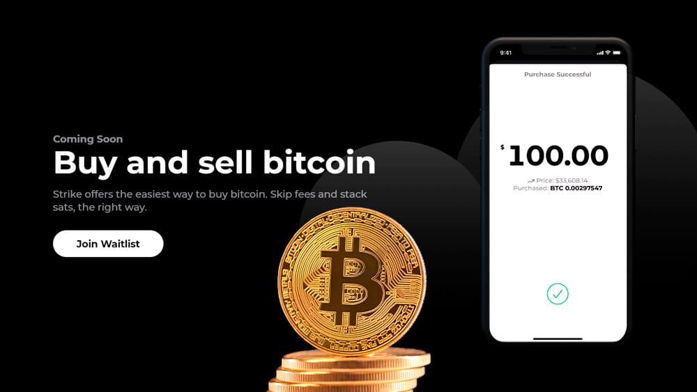 Strike, de Jack Mallers, venderá bitcoin con comisión casi 0