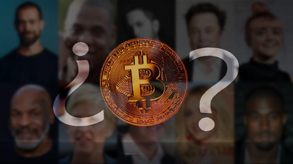 10 famosos que hablan de bitcoin, lo compran o lo aman (2021)