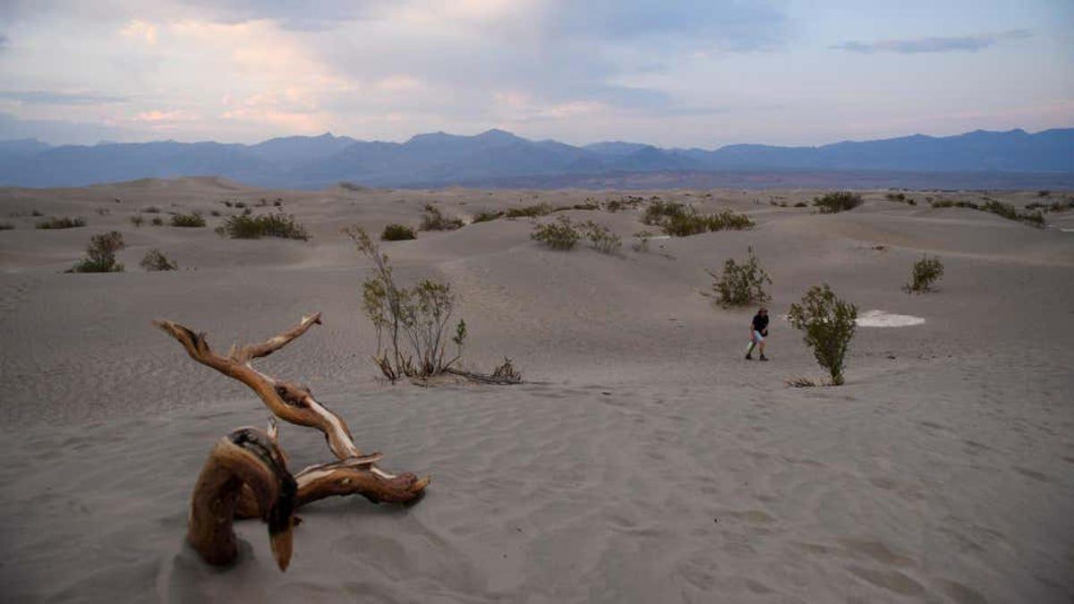Récord mundial de temperaturas en el Valle de la Muerte