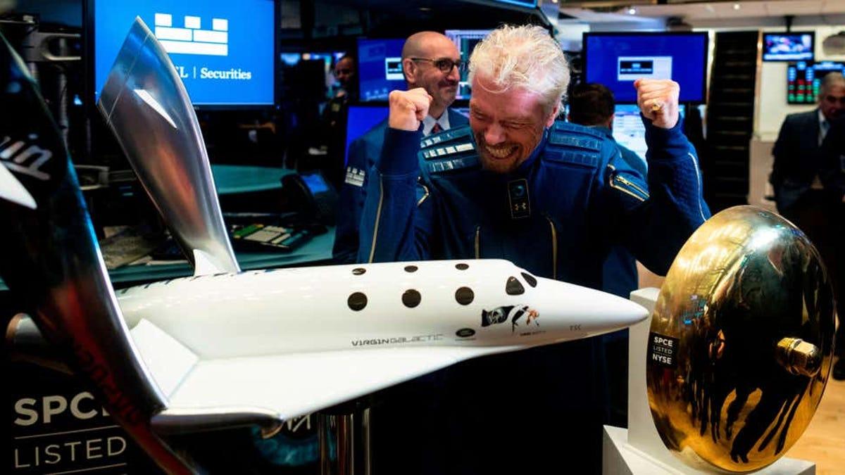 El vuelo de Richard Branson y la frontera del espacio