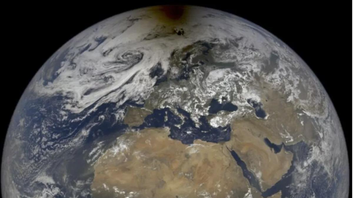 La NASA comparte una imagen del último eclipse solar tomada a 1,5 millones de kilómetros de la Tierra