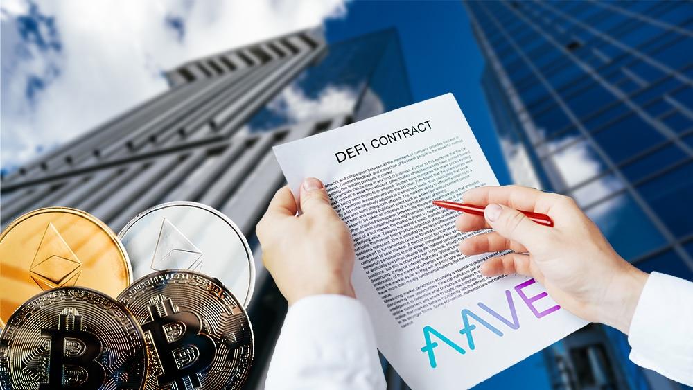 Aave lanza su DeFi centralizada para instituciones