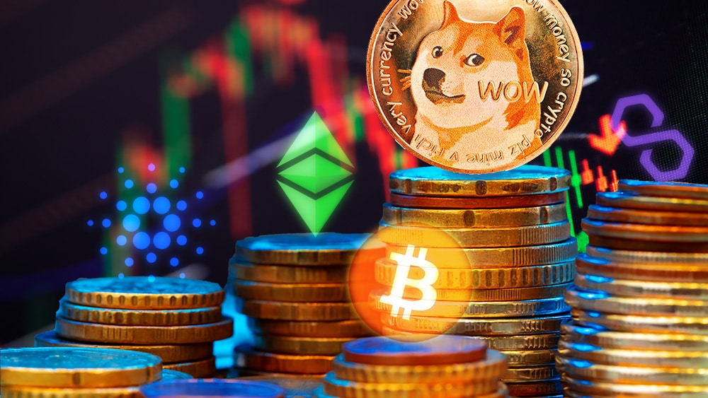 Con 400% de aumento, Dogecoin lideró un trimestre rojo para las criptomonedas