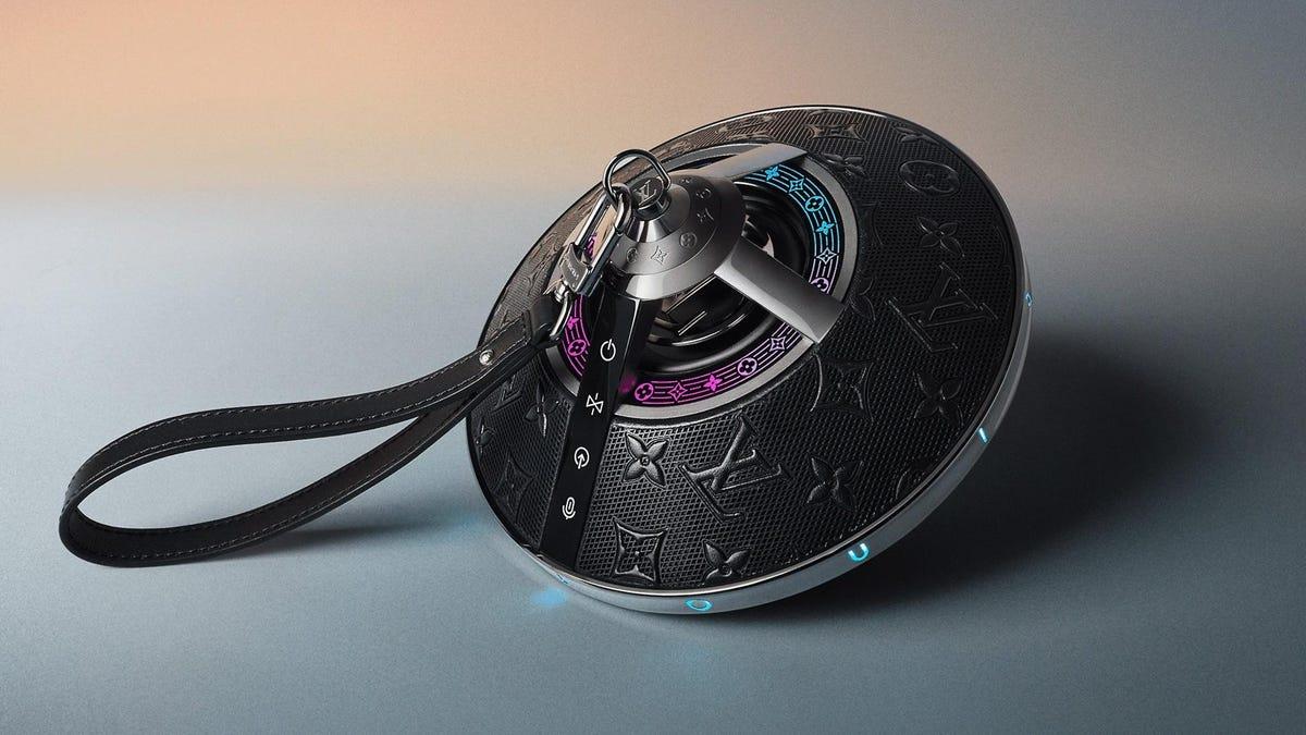 El primer altavoz de Louis Vuitton parece sacado de una película de Marvel