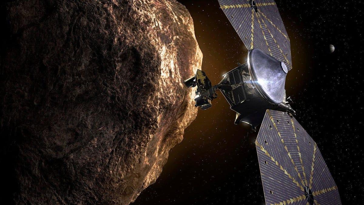 La nave espacial Lucy de la NASA llevará una cápsula del tiempo para futuros terrícolas