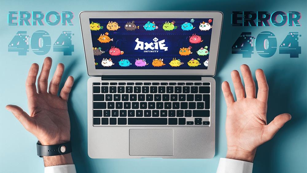 Servidor de Axie Infinity colapsa ante alta demanda de usuarios
