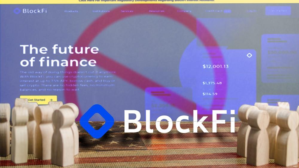 Ya son cuatro los estados en EE. UU. que prohíben operar a BlockFi