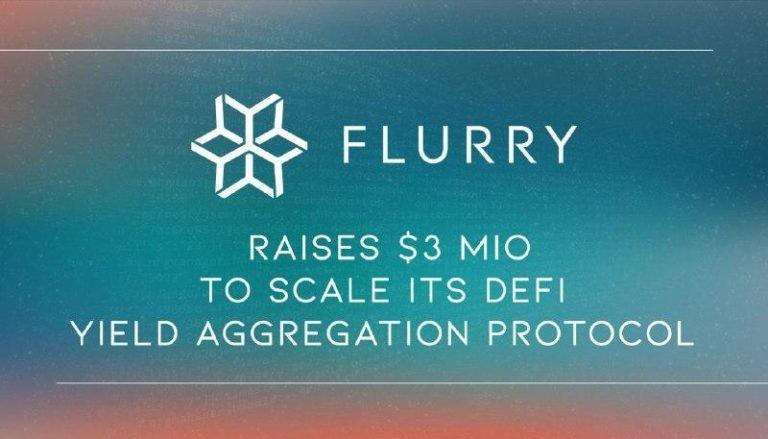 Flurry Finance recauda $ 3 millones para escalar su protocolo de agregación de rendimiento DeFi