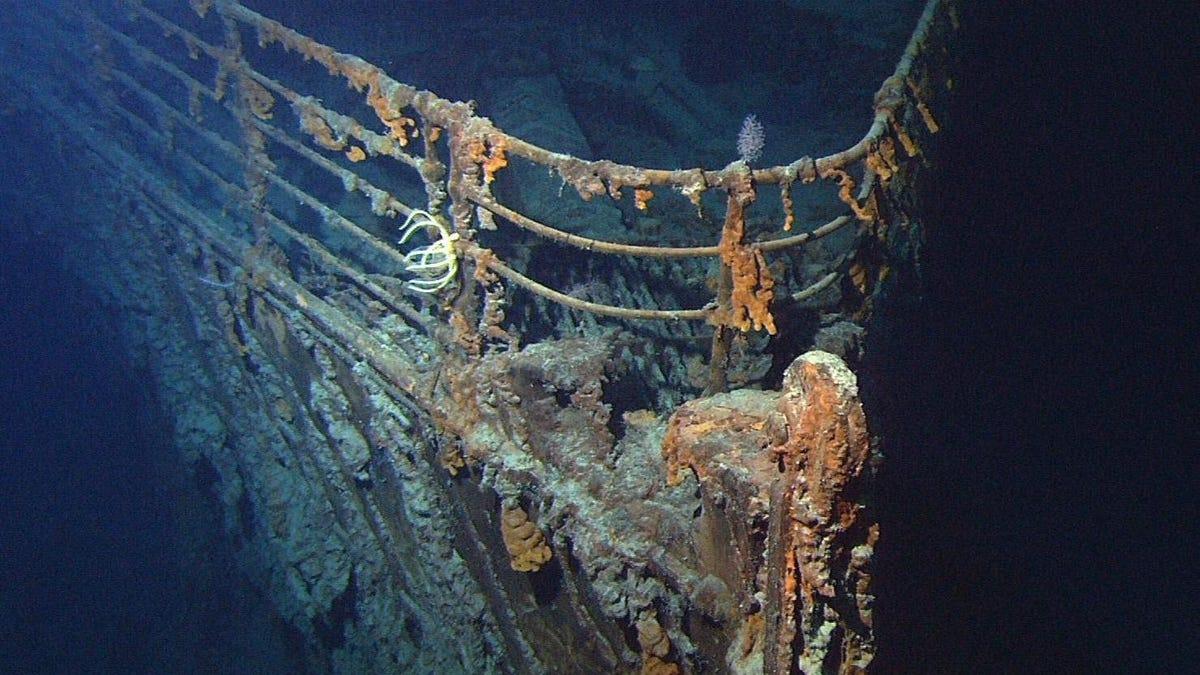 Una expedición viajará al Titanic para ver cómo va su deterioro