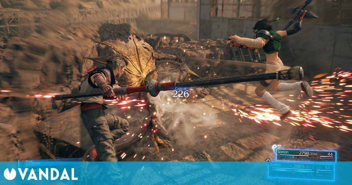 Algunas funciones de Final Fantasy 7 Remake InterMISSION llegarán a la Parte 2