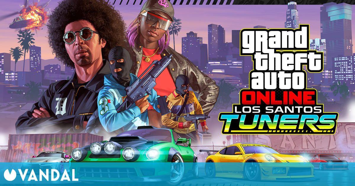 GTA Online: Ya está aquí Los Santos Tuners con nuevos contratos, ropa y más