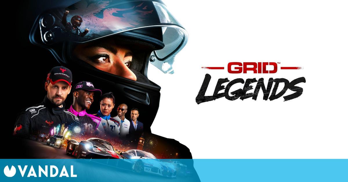 GRID Legends de Codemasters anunciado para consolas y PC; llegará en 2022