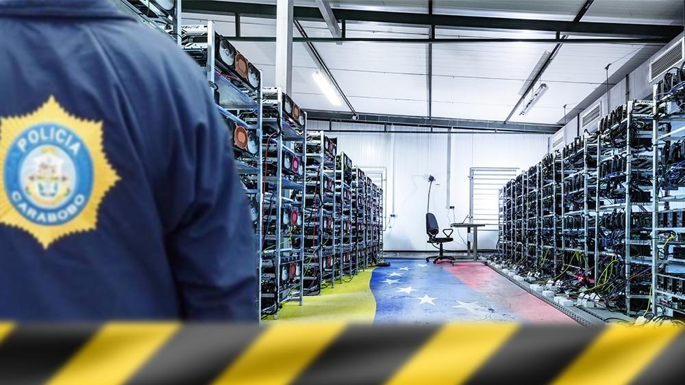 Autoridades de Venezuela incautan 140 equipos para minar bitcoin en el estado Carabobo