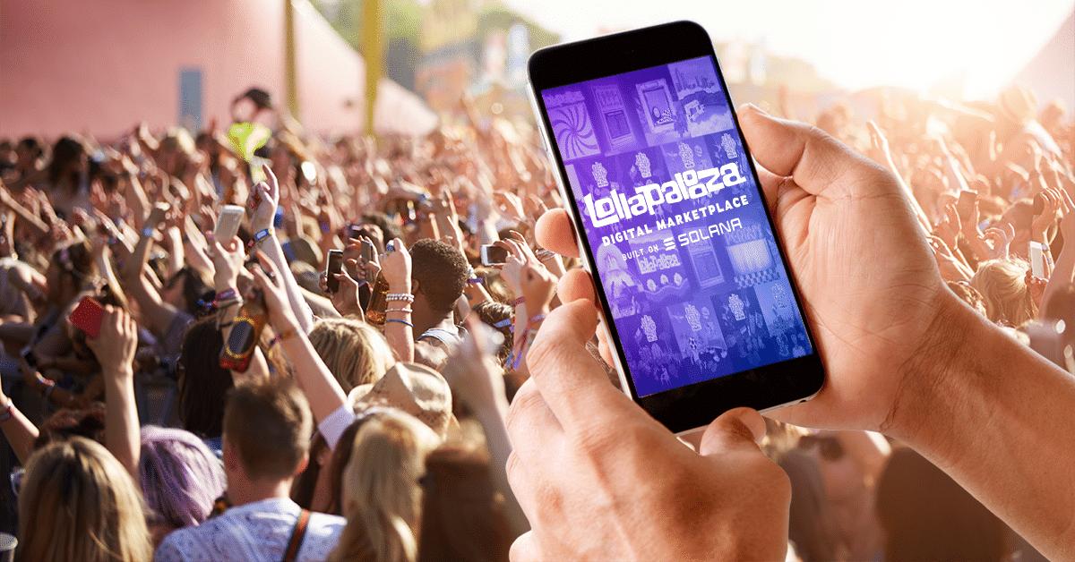Festival Lollapalooza ya vende sus NFT en Solana