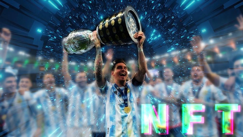 La Copa América y el trofeo de goleador de Messi se venden como NFT en Ethereum