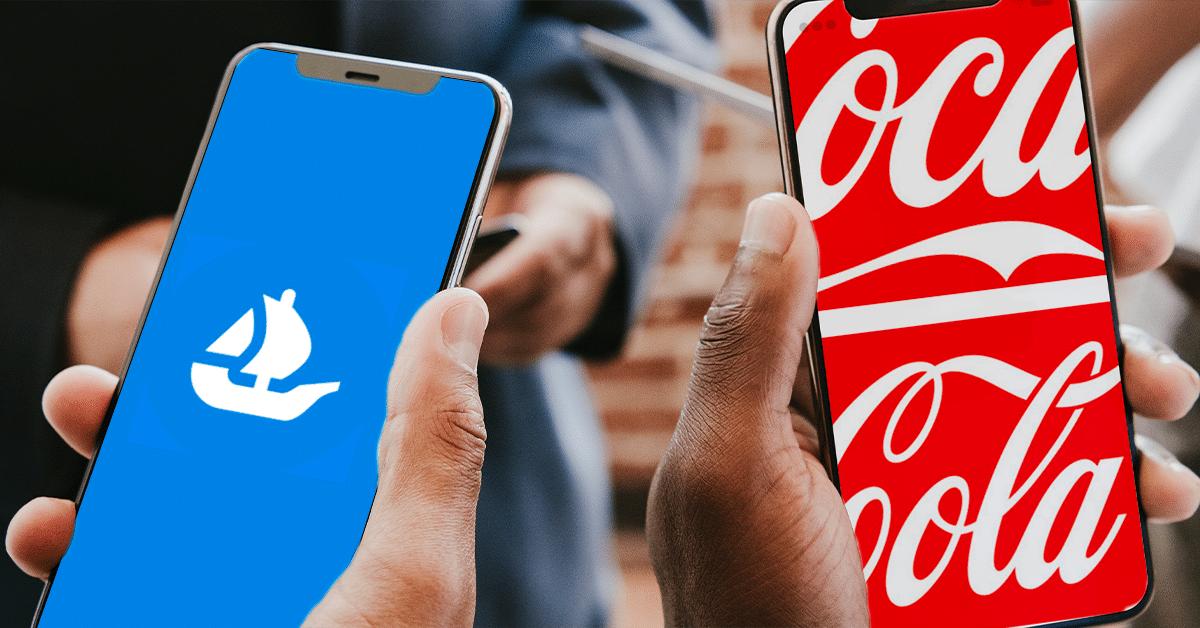 Coca-Cola se suma a la fiebre de los NFT con una colección en Ethereum