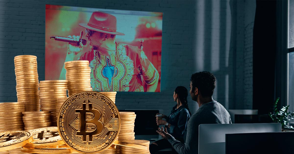 Este rapero te regala 0,75 bitcoin si descubres las pistas ocultas en sus videos