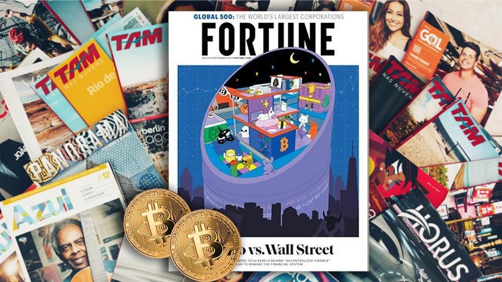 Fortune dedica a Bitcoin la más reciente edición de su revista