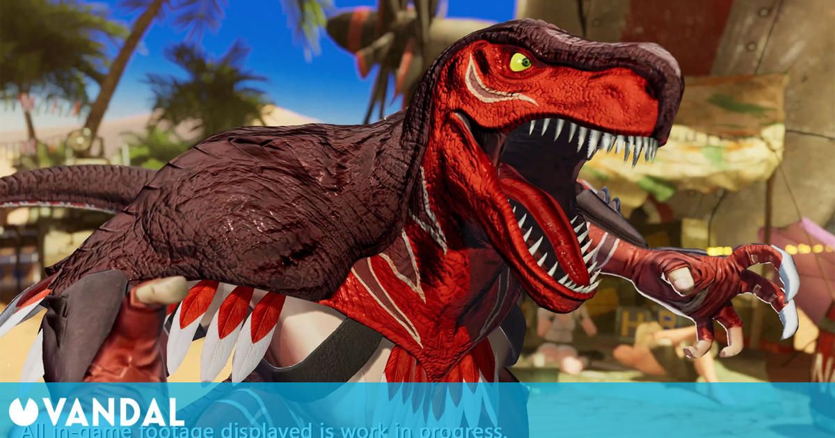 The King of Fighters 15 presenta a King of Dinosaurs en vídeo e imágenes