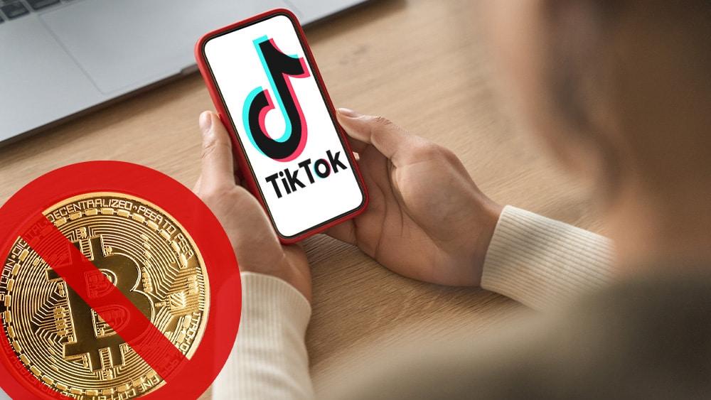 TikTok prohíbe a influencers promocionar Bitcoin y criptomonedas