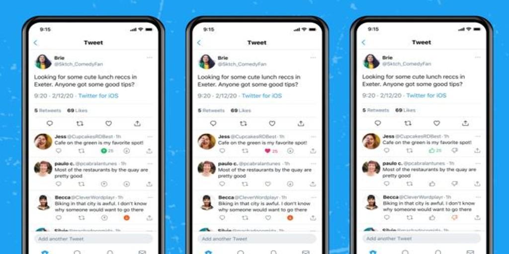 Twitter ahora te permite votar de forma negativa los tuits que no te gustan